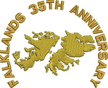Falklands 35th Anniversary Embroidered Polo Shirt